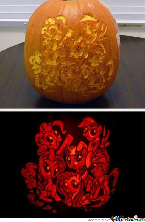 My little pony pumpkin