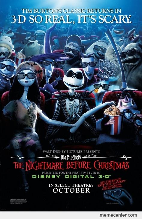 Funny Nightmare Before Christmas Memes.Nightmare Before Christmas In 3d By Ben Meme Center