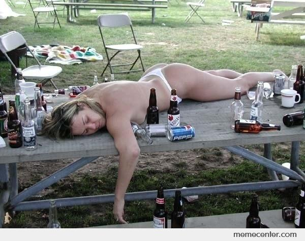 Photo of drunk naked women agree