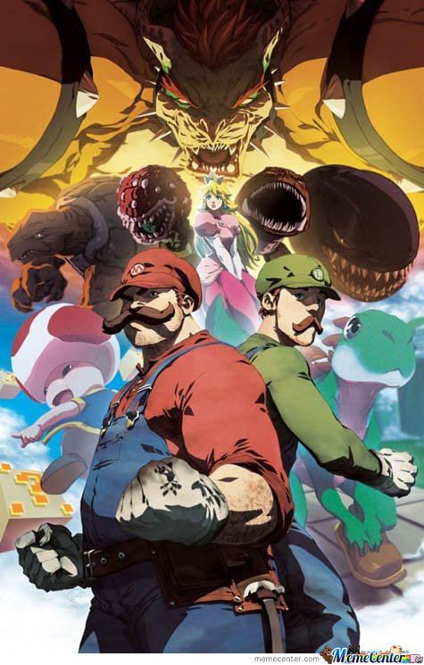 Only Mario Can Be This Badass