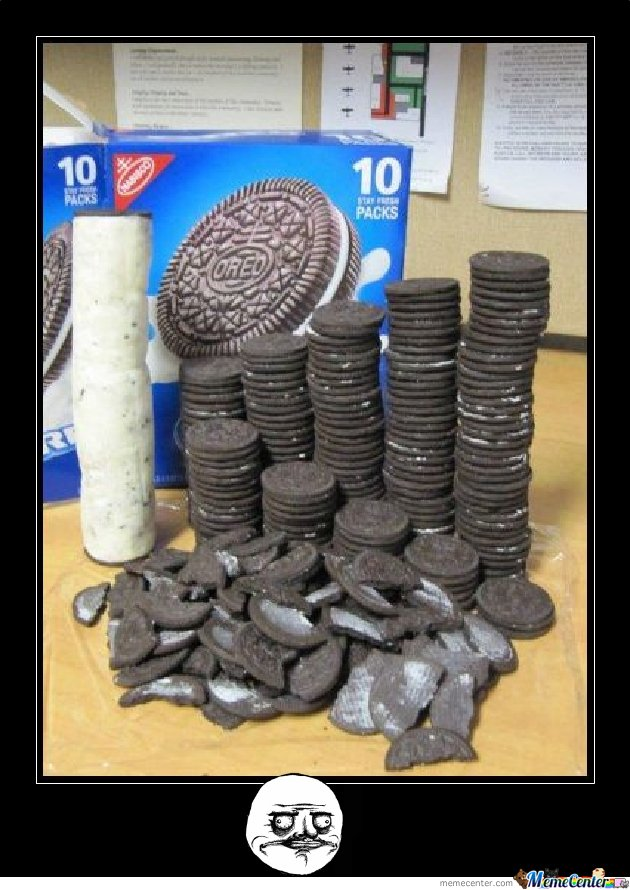 Oreo...How they should look like