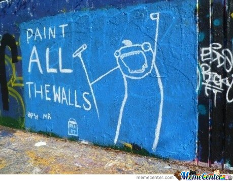 Paint All The Walls