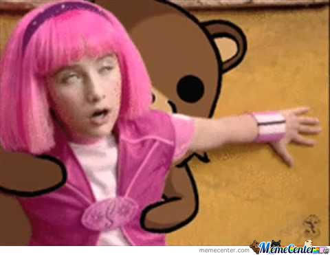 Funny Lazy Town Meme : Lazy town remix feat lil jon coub gifs with sound