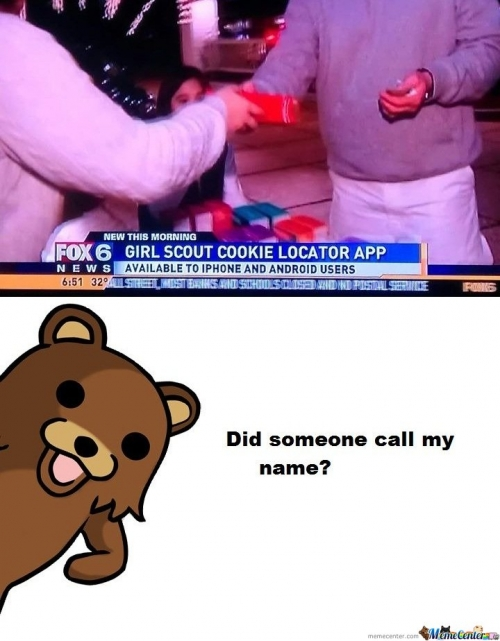 Pedobear - Did someone call my name?
