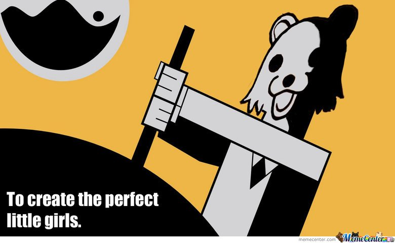 Pedobear - To create the perfect little girls