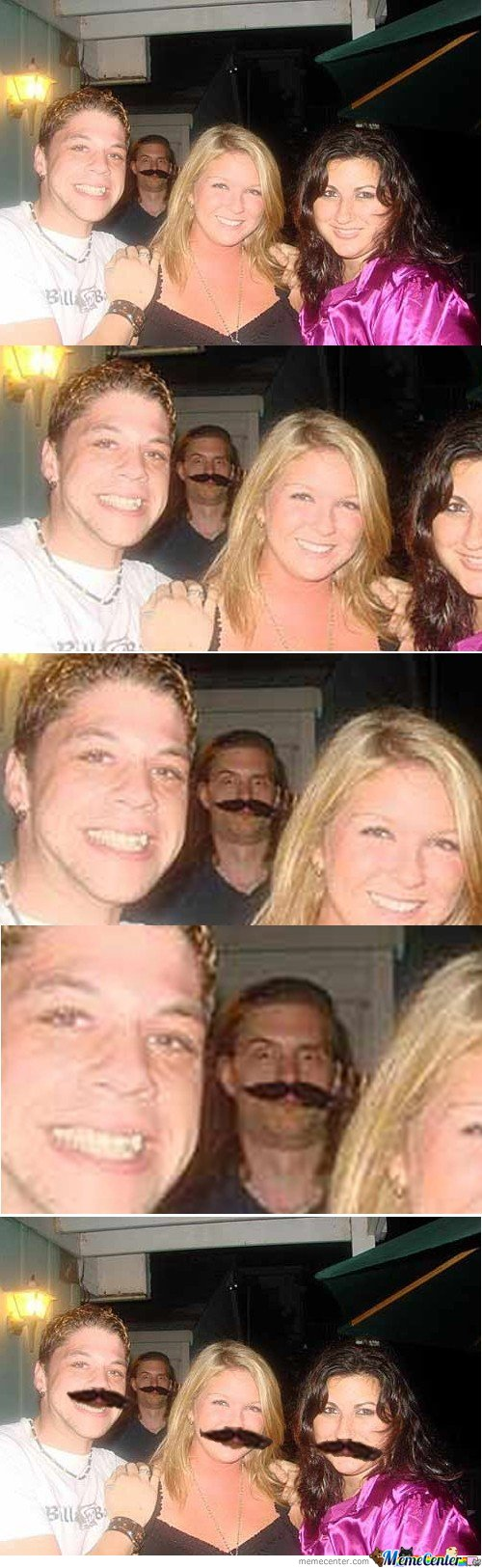 Photobomb Lvl: Moustache