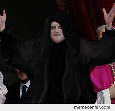 Pope Darth Sidious By Ben Meme Center
