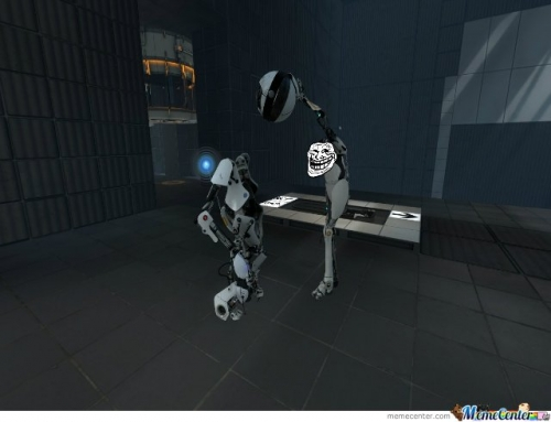 Portal 2 wanna have your Head again?