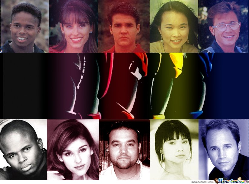 Power Rangers now and then