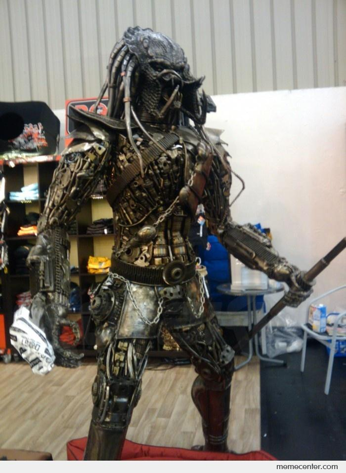 Predator made of spare parts by ben