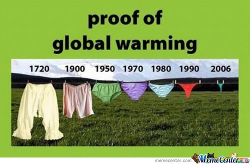 Proof of global warming