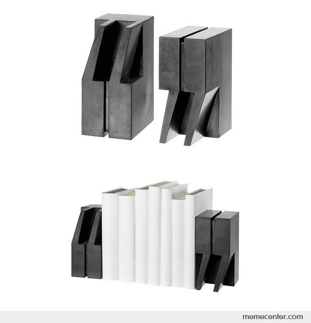 Quoteunquote Bookends By Ben Meme Center