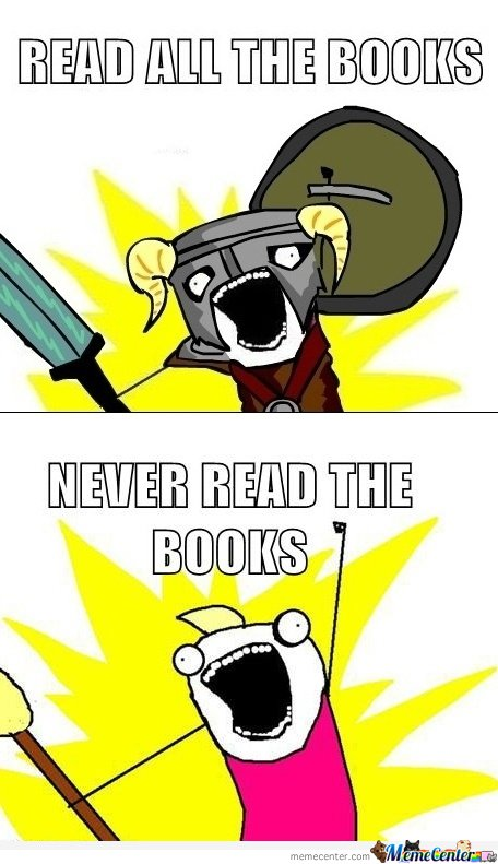 Read All The Books By Mustapan Meme Center
