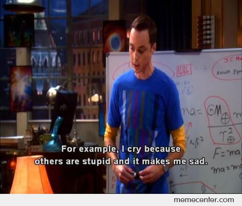 Reason For Sheldon Cry