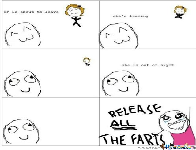Release All The Farts