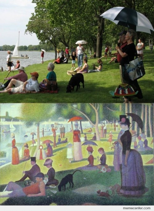 Remake the famous painting