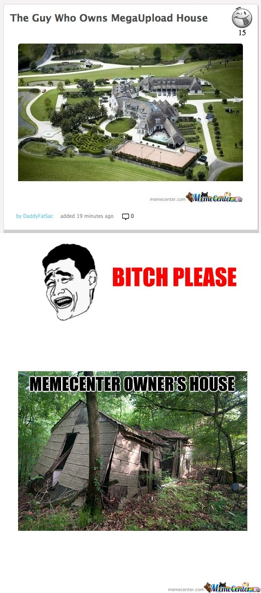 Reply to: Megaupload Owner's House
