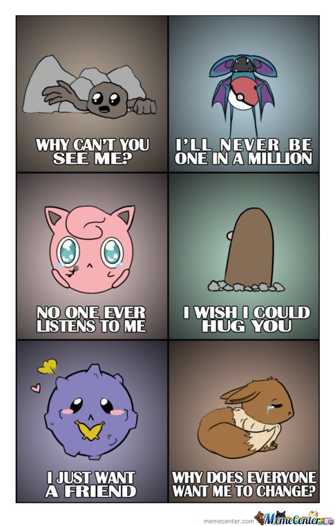 Sad pokemon is sad