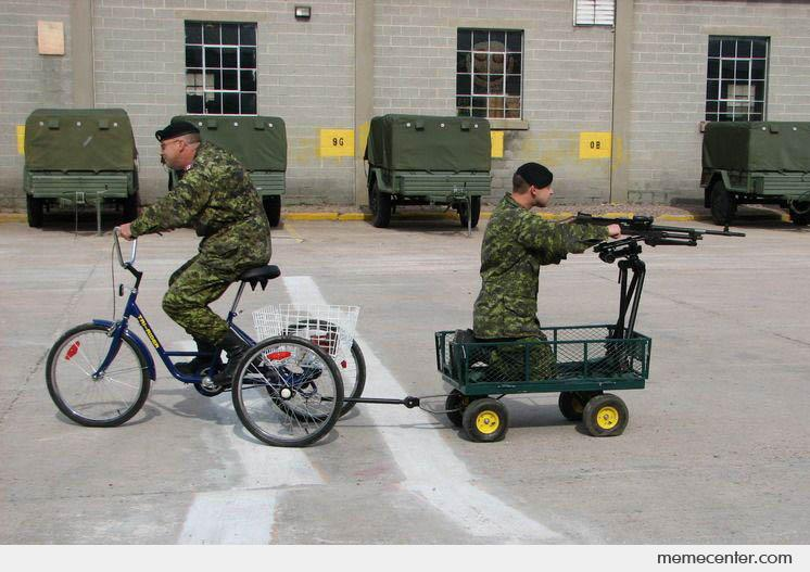 Savings in the military budget
