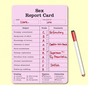 Sex report card by ben meme center maxwellsz