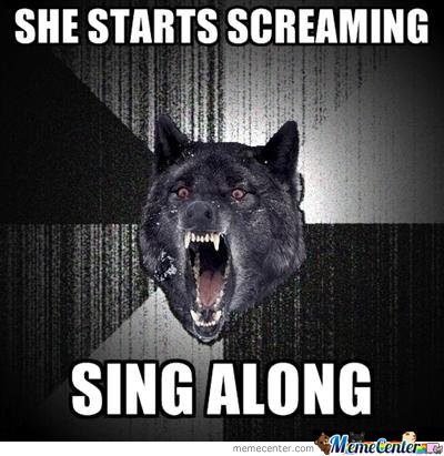 She Starts Screaming