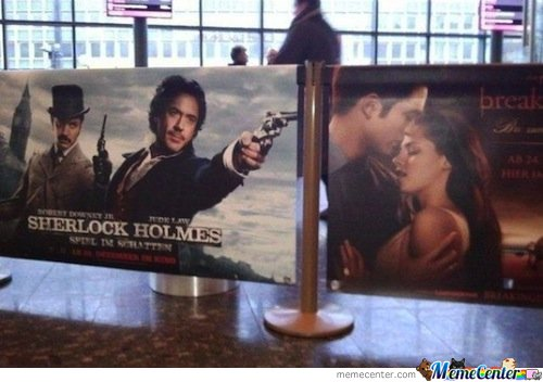 Sherlock Holmes will save us all