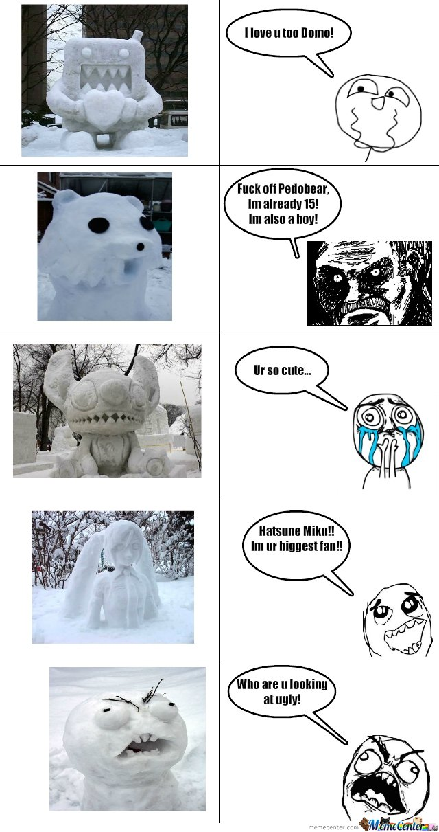Some awesome snowmans!!!