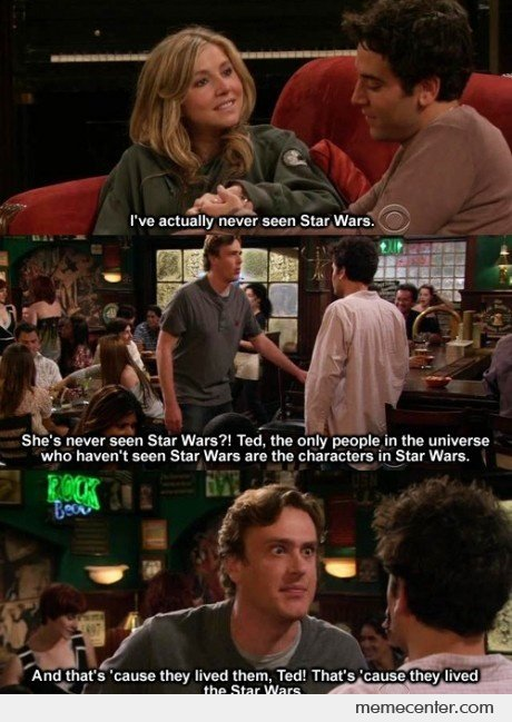 Star Wars Convo in HIMYM