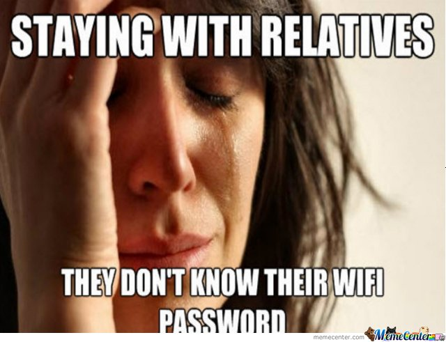 Staying With Relatives