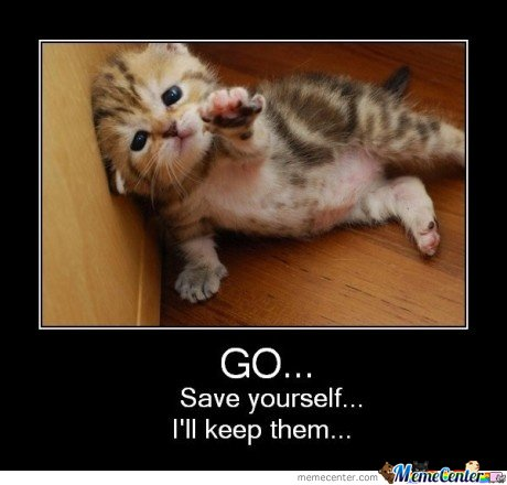 Go ! Save Yourself!