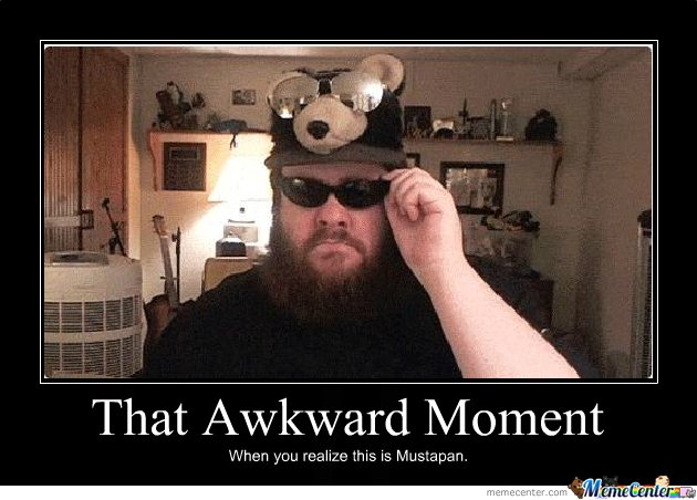 That awkward moment when meme