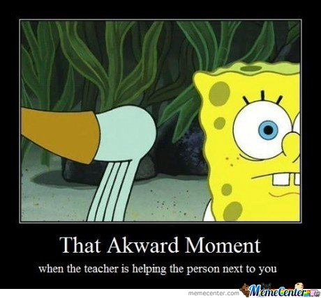 the akward moment by atachi13 meme center