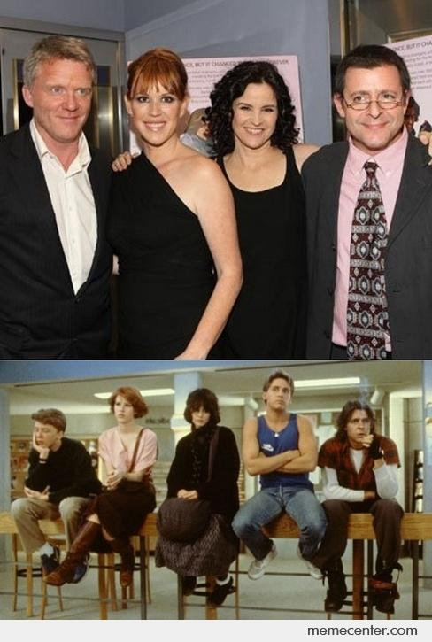 The Breakfast Club Then and Now_o_40670 the breakfast club then and now by ben meme center,Breakfast Club Memes
