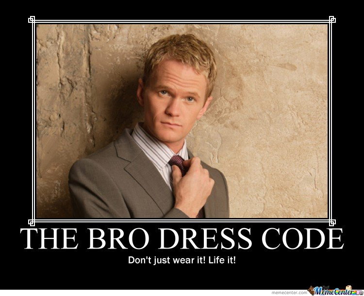 Bro code rules about dating online 7