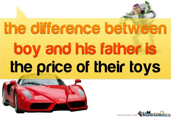 The Difference Between Boy And His Father