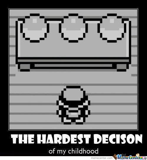 The Hardes Decision Of My Childhood