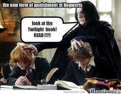 The New Form Of Punishment In Hogwarts