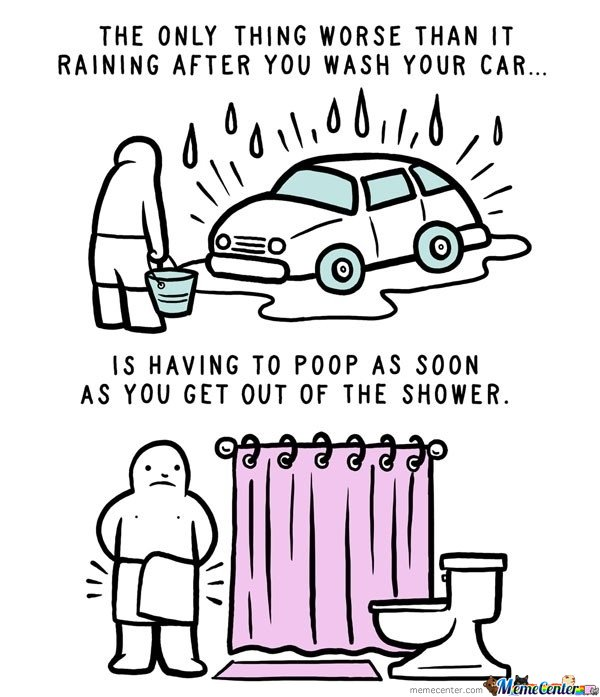 The Only Thing Worse than washing a car is...