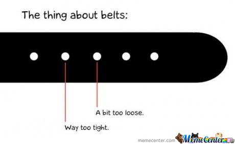 The Thing About Belts