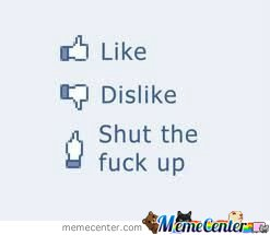 The new facebook button's