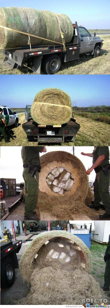 The new way to transport drugs..