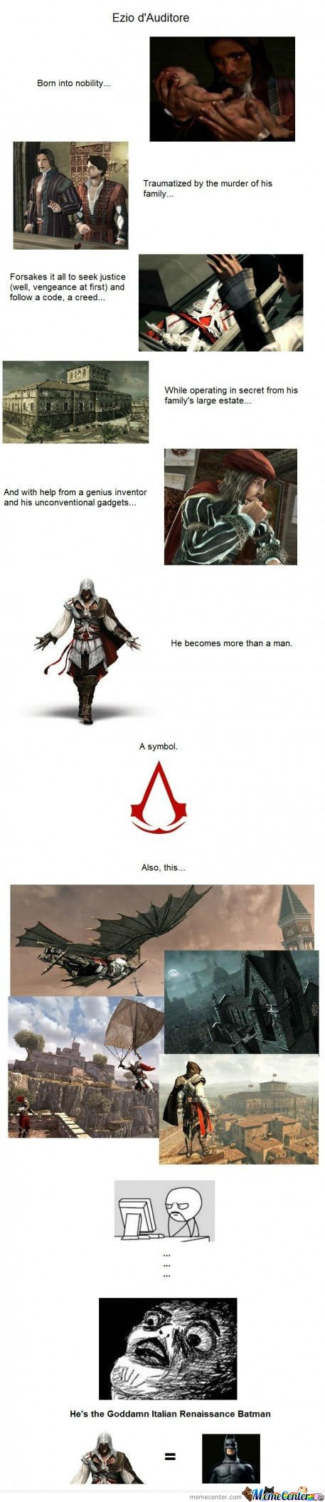 The story of Ezio d'Auditore