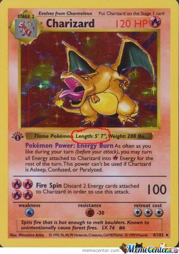 There's no better feeling than finding out you're taller than Charizard
