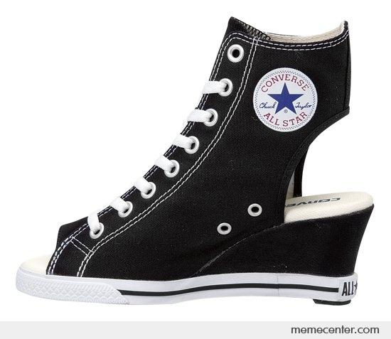 This Converse looks ugly by ben - Meme