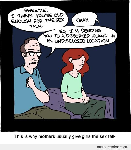 Sex talks for gitls