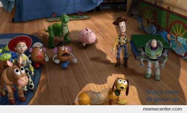 Toy story blowjob