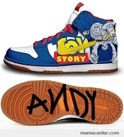Toy Story Shoes By Ben Meme Center