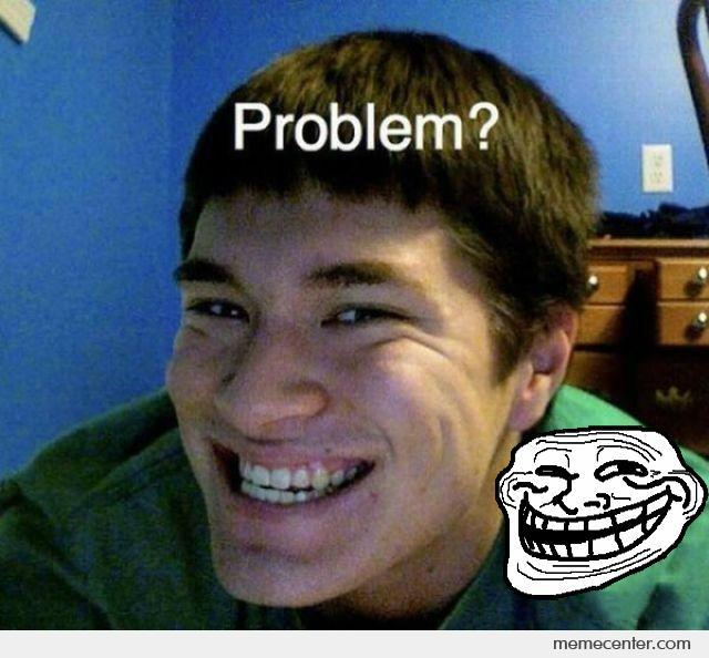 Troll Face In Real Life