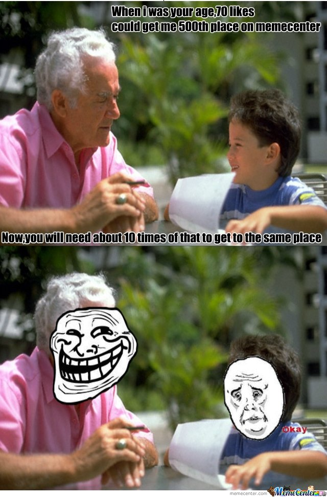 Troll grandpa_o_142752 troll grandpa by fapper312 meme center,Grandpa Memes