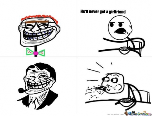 Trollface may not get a girl